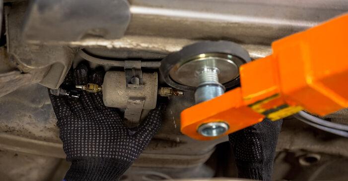 Önálló OPEL Corsa C Hatchback (X01) 1.2 Twinport (F08, F68) 2003 Üzemanyagszűrő csere
