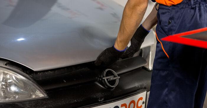 Wie Bremsbacken Opel Corsa C 1.2 (F08, F68) 2000 tauschen - Kostenlose PDF- und Videoanleitungen