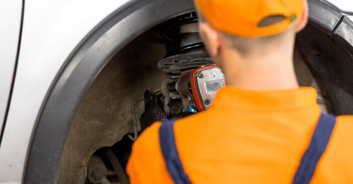 Cum să schimbați Flansa Amortizor la OPEL Corsa C Hatchback (X01) 2002 - sfaturi și trucuri utile