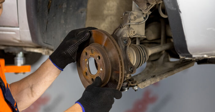 Changing of Wheel Bearing on Opel Corsa C 2008 won't be an issue if you follow this illustrated step-by-step guide