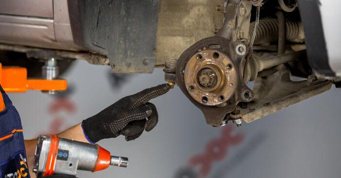 Corsa C Hatchback (X01) 1.7 DTI (F08, F68) 2001 Wheel Bearing DIY replacement workshop manual