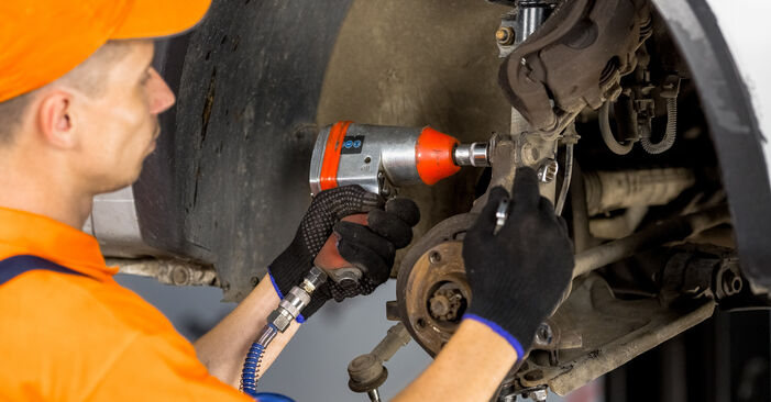 How to change Wheel Bearing on Opel Corsa C 2000 - free PDF and video manuals