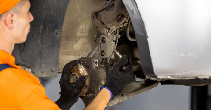 How hard is it to do yourself: Wheel Bearing replacement on Opel Corsa C 1.7 DI (F08, F68) 2006 - download illustrated guide