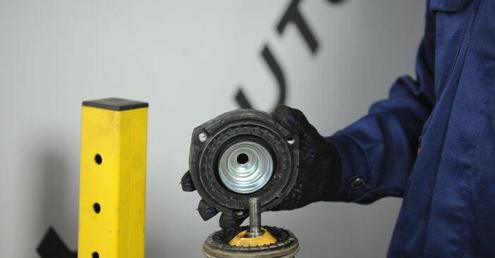 Domlager Polo 9n 1.4 TDI 2003 wechseln: Kostenlose Reparaturhandbücher