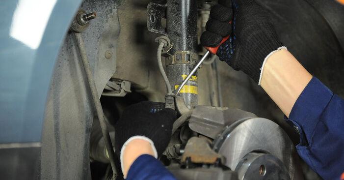 Wie schwer ist es, selbst zu reparieren: Domlager Polo 9n 1.4 16V 2007 Tausch - Downloaden Sie sich illustrierte Anleitungen