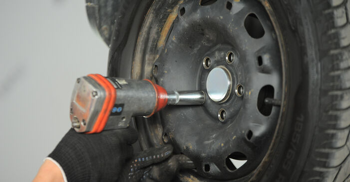 Veerpootlager VW POLO (9N_) 1.2 2004 zelf verwisselen