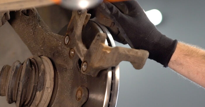 Wechseln Bremsscheiben am VW POLO (9N_) 1.2 2004 selber