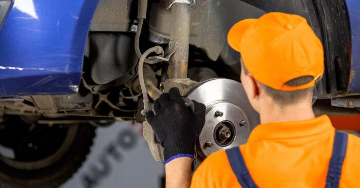 Fiesta Mk5 Schrägheck (JH1, JD1, JH3, JD3) ST150 2.0 2002 1.4 16V Domlager - Handbuch zum Wechsel und der Reparatur eigenständig