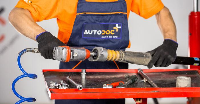 Zweckdienliche Tipps zum Austausch von Domlager beim FORD Fiesta Mk5 Schrägheck (JH1, JD1, JH3, JD3) 1.3 2005