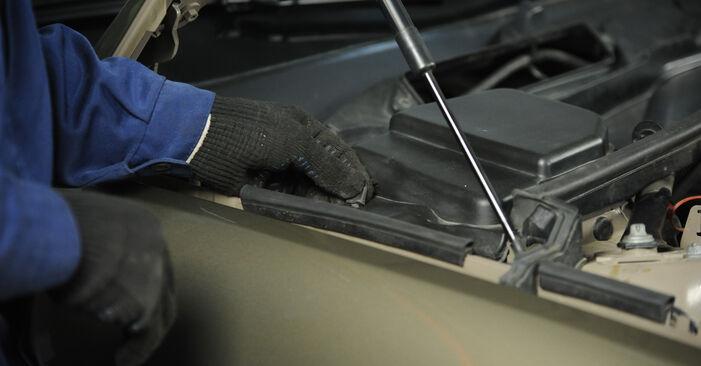 BMW 3 SERIES 2003 Uždegimo žvakė išsami keitimo instrukcija