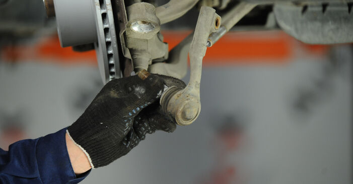 Changing of Track Rod End on BMW E90 2008 won't be an issue if you follow this illustrated step-by-step guide