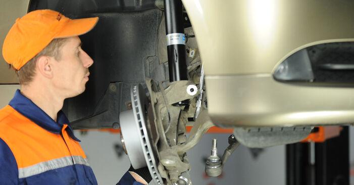 Kako težko to naredite sami: Blazilnik zamenjava na BMW E90 325d 3.0 2010 - prenesite slikovni vodnik
