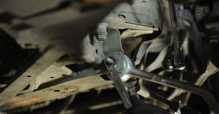 BMW 3 SERIES 318d 2.0 Federn ausbauen: Anweisungen und Video-Tutorials online