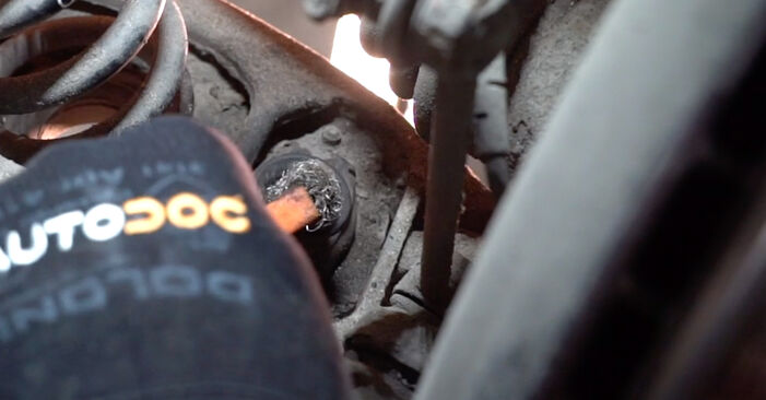 Changing of Shock Absorber on BMW E90 2004 won't be an issue if you follow this illustrated step-by-step guide