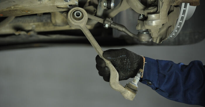 Changing of Control Arm on BMW E90 2008 won't be an issue if you follow this illustrated step-by-step guide