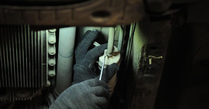 Wechseln Kraftstofffilter am BMW X3 (E83) 3.0 i xDrive 2006 selber