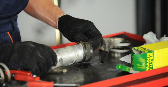 Kraftstofffilter Ihres BMW X3 E83 2.0 d 2011 selbst Wechsel - Gratis Tutorial