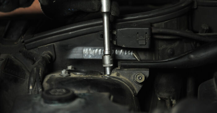 How to replace BMW X3 (E83) 2.0 d 2004 Shock Absorber - step-by-step manuals and video guides