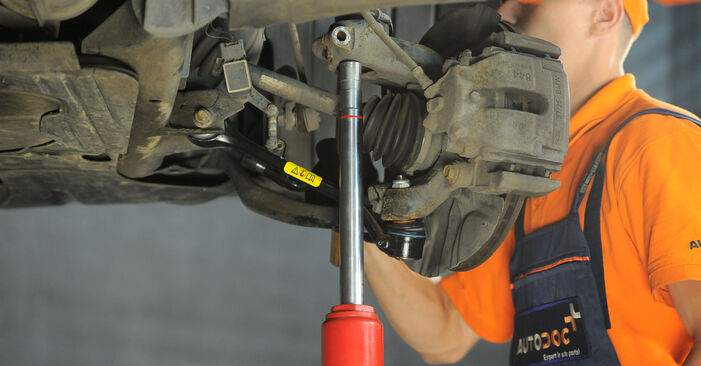 How hard is it to do yourself: Shock Absorber replacement on BMW X3 E83 2.0 i 2009 - download illustrated guide