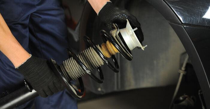 Смяна на Пружинно окачване на BMW X3 E83 2004 2.0 d самостоятелно