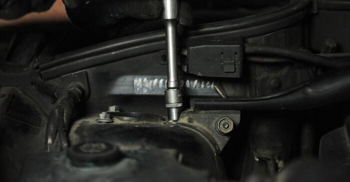 X3 (E83) 3.0 sd 2005 Пружинно окачване наръчник за самостоятелна смяна от производителя