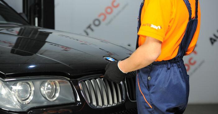 Стъпка по стъпка препоруки за самостоятелна смяна на BMW X3 E83 2007 3.0 sd Пружинно окачване