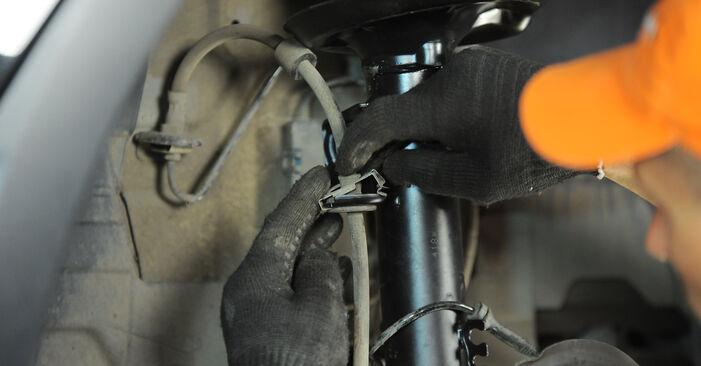 Как да демонтираме BMW X3 3.0 sd 2007 Пружинно окачване - онлайн лесни за следване инструкции
