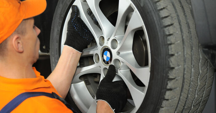 Changing Strut Mount on BMW X3 (E83) 3.0 i xDrive 2006 by yourself