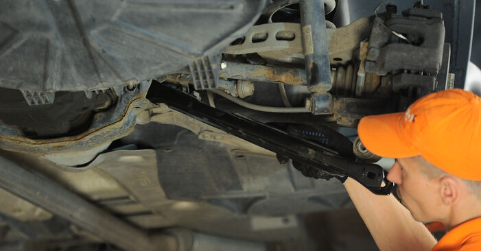 Replacing Control Arm on BMW X3 E83 2004 2.0 d by yourself