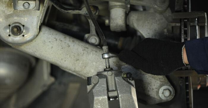 Bremssattel BMW E39 528i 2.8 1997 wechseln: Kostenlose Reparaturhandbücher