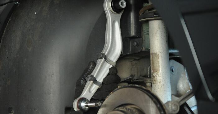 5 Limousine (E39) 525tds 2.5 1997 Querlenker - Tutorial zum selbstständigen Teilewechsel