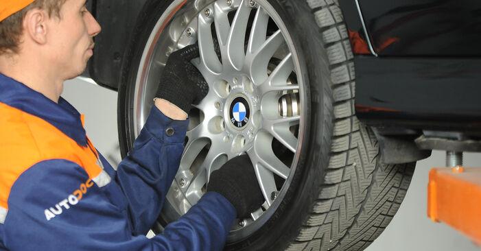 Wie man Querlenker beim BMW 5 Limousine (E39) 2000 auswechselt – Downloaden Sie sich PDF-Tutorials und Videoanleitungen herunter