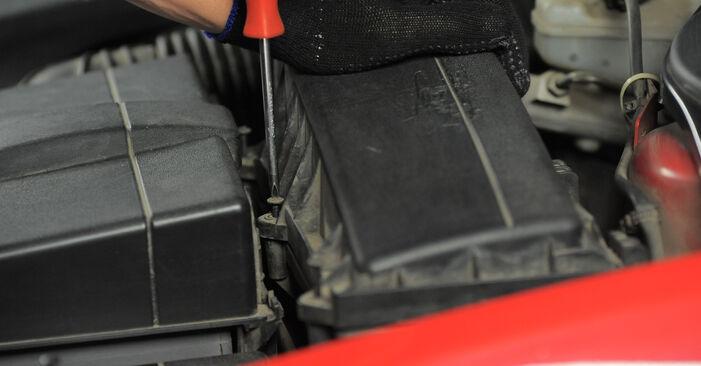 Luftfilter Ihres Ford Mondeo bwy 1.8 SCi 2000 selbst Wechsel - Gratis Tutorial