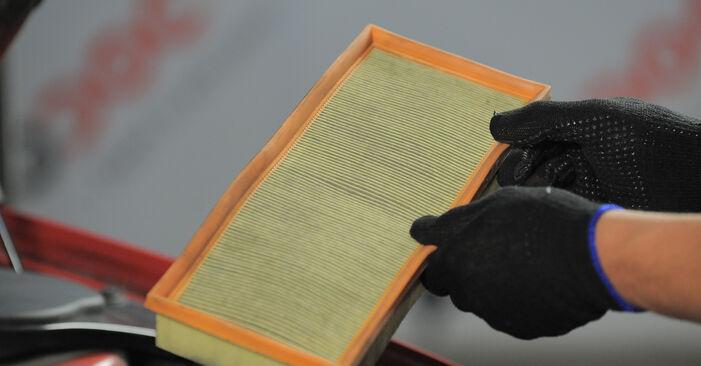 Luftfilter am FORD MONDEO III Kombi (BWY) 2.5 V6 24V 2005 wechseln – Laden Sie sich PDF-Handbücher und Videoanleitungen herunter