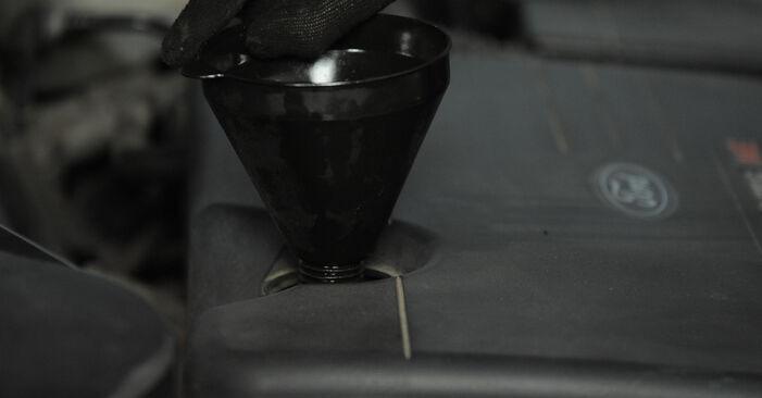 Asendades Ford Mondeo bwy 2002 2.0 16V Õlifilter ise