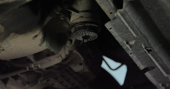 Kuidas eemaldada FORD MONDEO 2.2 TDCi 2004 Õlifilter - hõlpsasti järgitavad juhised online