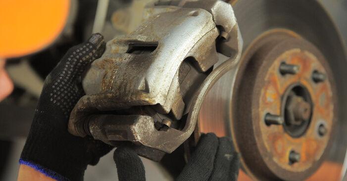 Bremsscheiben Ihres Ford Mondeo bwy 1.8 SCi 2000 selbst Wechsel - Gratis Tutorial