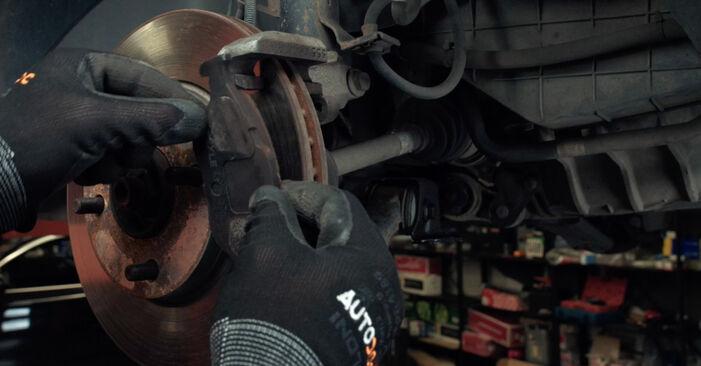 FORD MONDEO 2.0 16V Bremsscheiben ausbauen: Anweisungen und Video-Tutorials online
