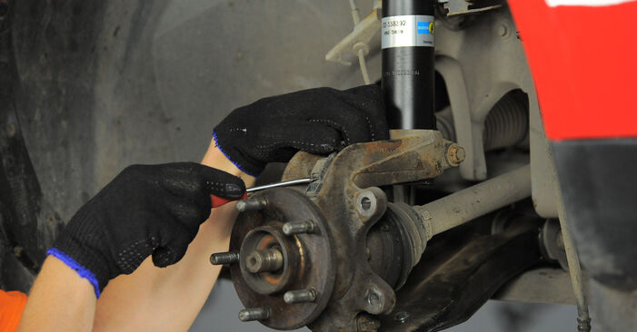 Changing of Wheel Bearing on Ford Mondeo bwy 2000 won't be an issue if you follow this illustrated step-by-step guide