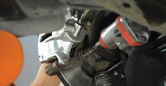 MONDEO III Estate (BWY) 2.2 TDCi 2003 Wheel Bearing DIY replacement workshop manual