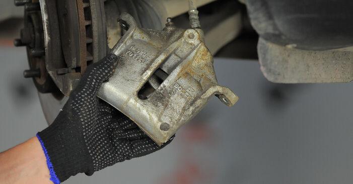 Austauschen Anleitung Bremssattel am Ford Mondeo Mk3 2002 2.0 16V selbst