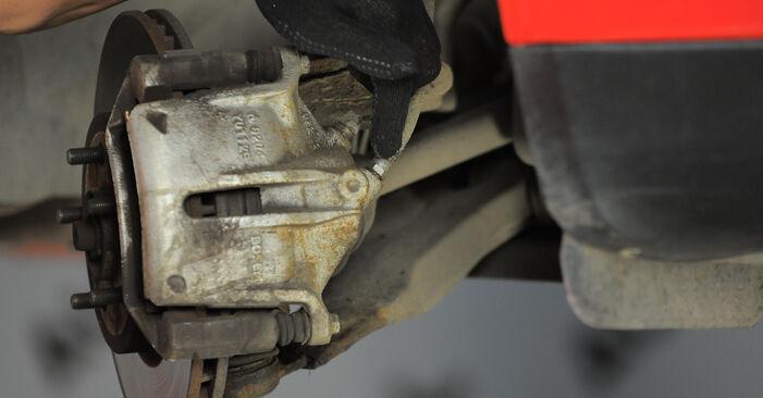 Bremssattel am FORD MONDEO III Kombi (BWY) 2.5 V6 24V 2005 wechseln – Laden Sie sich PDF-Handbücher und Videoanleitungen herunter