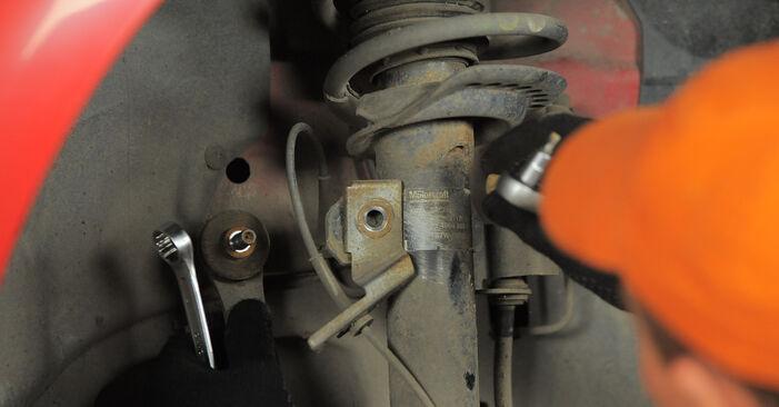Stoßdämpfer Ihres Ford Mondeo bwy 1.8 SCi 2000 selbst Wechsel - Gratis Tutorial