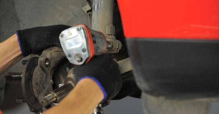 Austauschen Anleitung Stoßdämpfer am Ford Mondeo bwy 2002 2.0 16V selbst