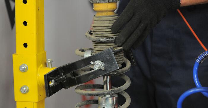 Tausch Tutorial Stoßdämpfer am FORD MONDEO III Kombi (BWY) 2004 wechselt - Tipps und Tricks