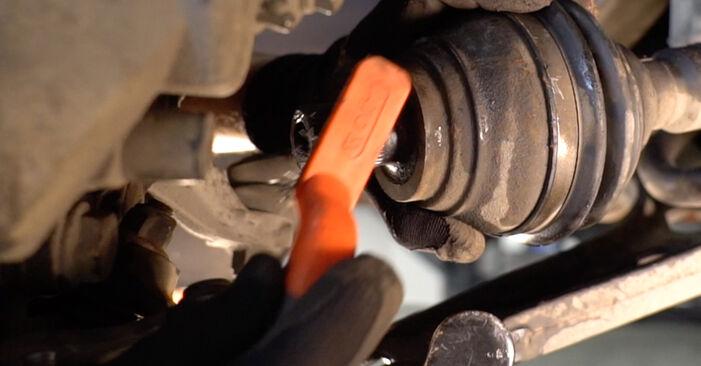 Schritt-für-Schritt-Anleitung zum selbstständigen Wechsel von Ford Mondeo bwy 2005 2.2 TDCi Stoßdämpfer