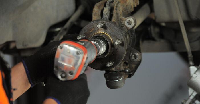 Wie schwer ist es, selbst zu reparieren: Stoßdämpfer Ford Mondeo bwy ST220 3.0 2006 Tausch - Downloaden Sie sich illustrierte Anleitungen