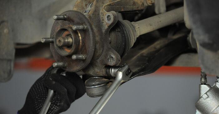 Wie schwer ist es, selbst zu reparieren: Domlager Ford Mondeo Mk3 ST220 3.0 2006 Tausch - Downloaden Sie sich illustrierte Anleitungen