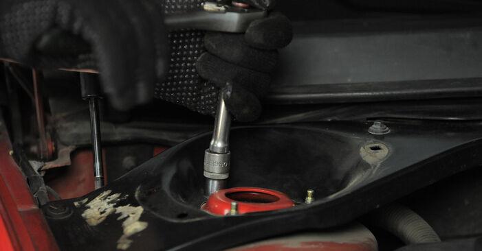 Domlager Ihres Ford Mondeo Mk3 1.8 SCi 2000 selbst Wechsel - Gratis Tutorial