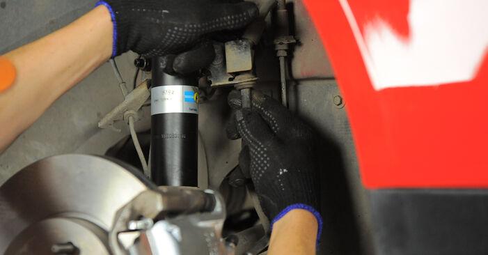 Domlager am FORD MONDEO III Kombi (BWY) 2.5 V6 24V 2005 wechseln – Laden Sie sich PDF-Handbücher und Videoanleitungen herunter